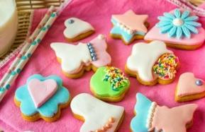 Receta fácil de galletas con fondant