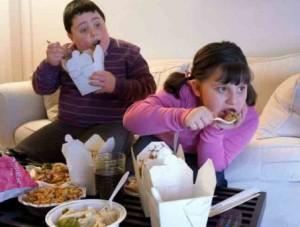 Causas de la obesidad infantil.