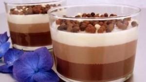 Receta natillas de chocolate para niños