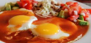 Preparar huevos rancheros