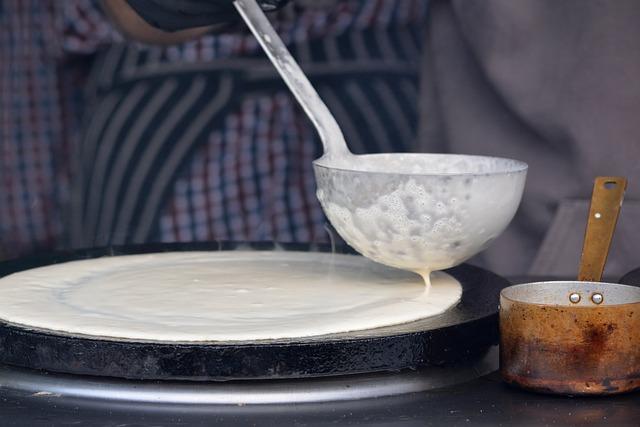 Recetas de crépes con jamón y queso salados