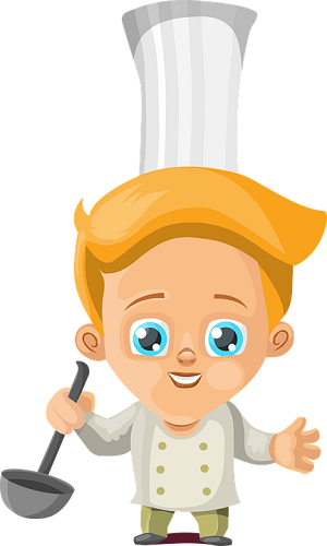 Cocinas seguras para niños-animación